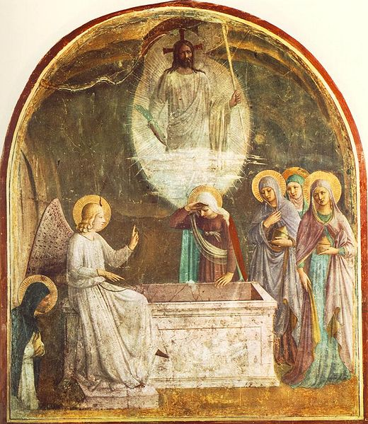 The Resurrection of Christ and the Women at the Tomb, Fra Angelico