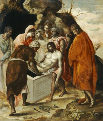 The Entombment of Christ, El Greco